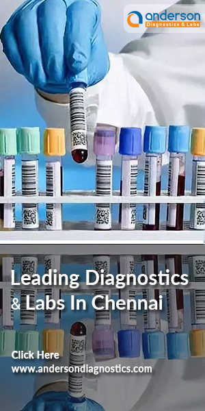 Blood Samples Collected And Organised At A Leading Diagnostics And Labs In Chennai