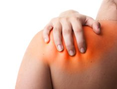A Person Suffering With Back Shoulder Pain